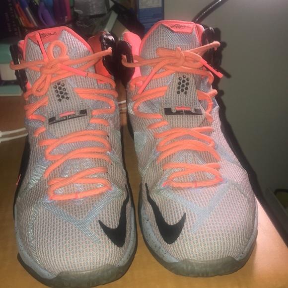 "finest selection a9b33 6904e Nike LeBron 12 ""Easter"""